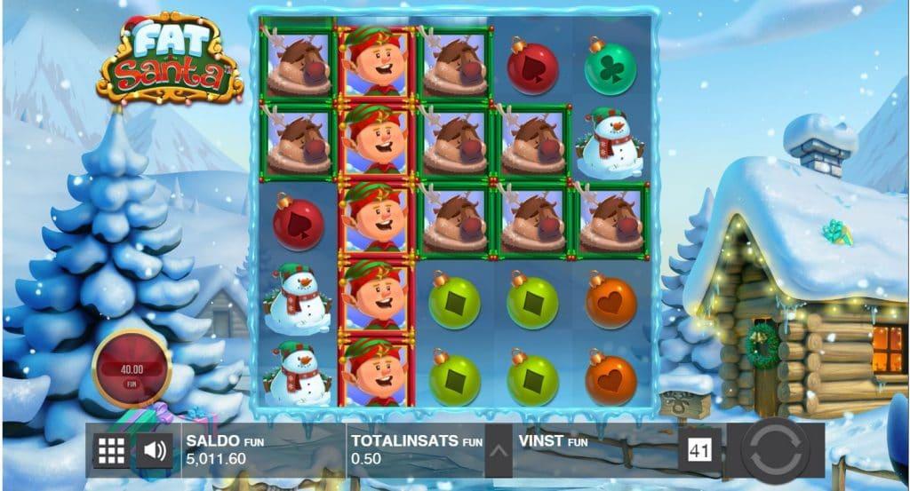Julslots - Spelautomater med julstämning hos Bettson
