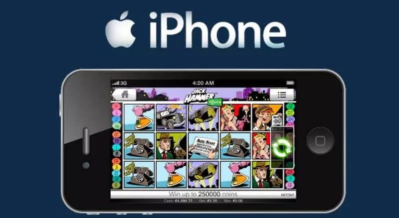 iPhone mobilcasino - Spela online casino i din Apple telefon