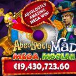 Nytt världsrekord för Mega Moolah jackpotten