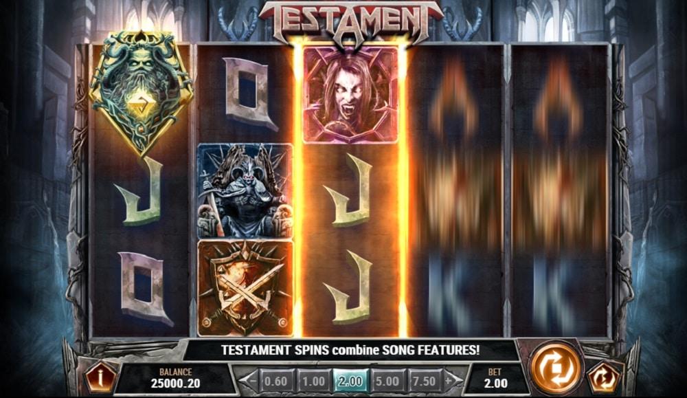 Testament - Hårdrocksslot från Play'n GO